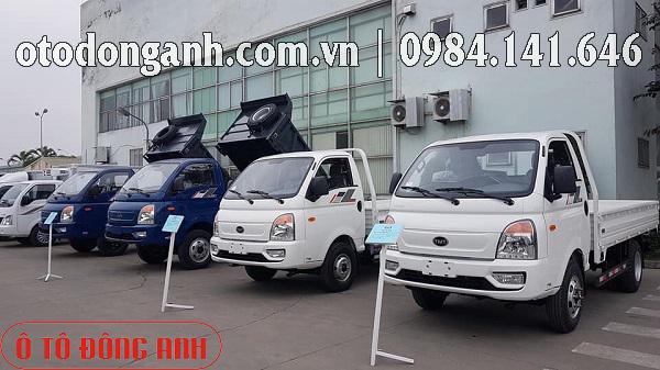 xe ben Hyundai 1 tấn
